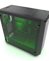Phanteks Eclipse P400S Sound-Proof Tempered Glass Window Black